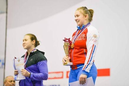 Донская спортсменка выиграла первенство Российской Федерации потяжелой атлетике